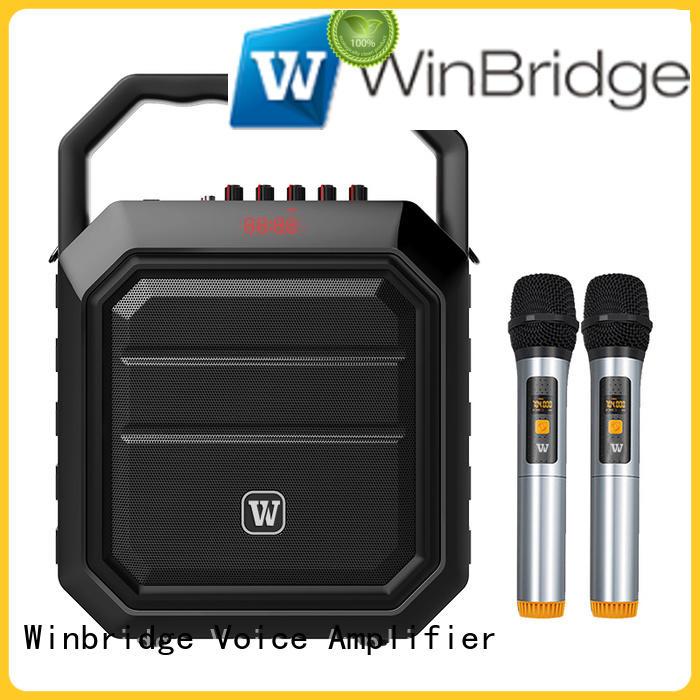 Quality Winbridge Brand speaker karaoke multifunction