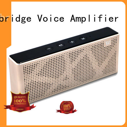 exquisite panel bluetooth speaker hands-free call mini Winbridge company