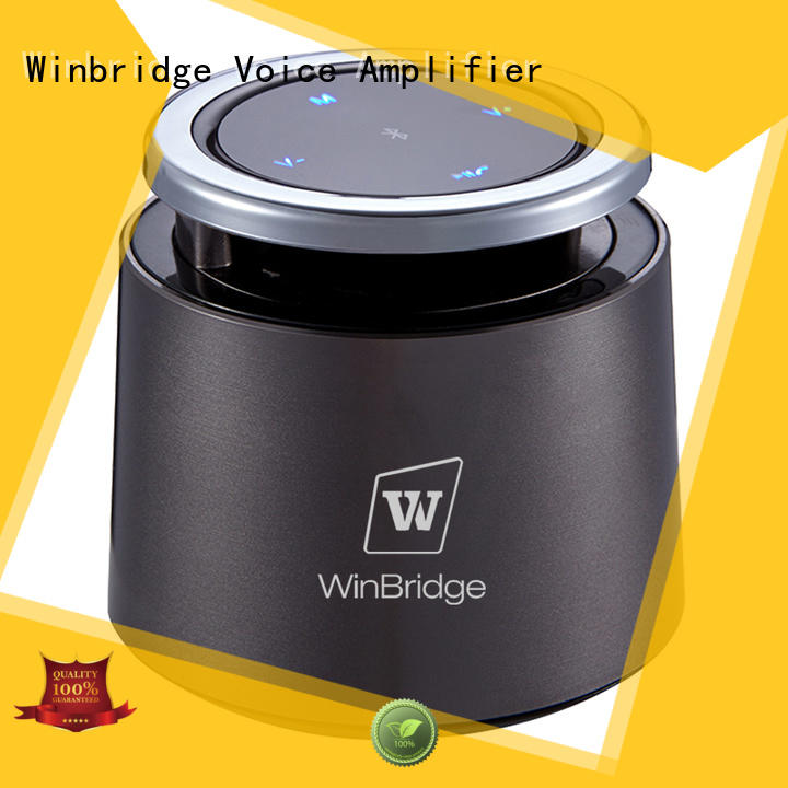 Winbridge high end round bluetooth speaker wholesale for riding