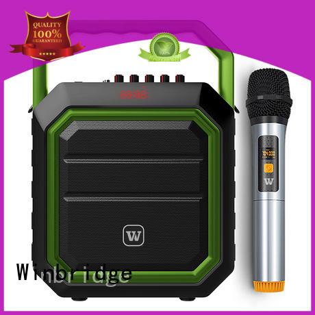 Winbridge new bluetooth pa speakers factory for speech