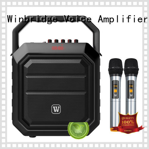 Winbridge Brand portable wireless karaoke speaker manufacture