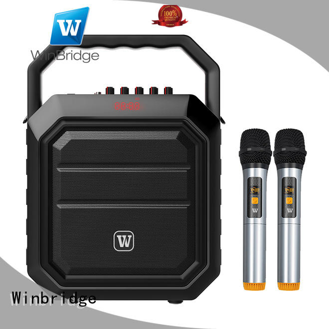 speaker karaoke speaker with microphone with performance