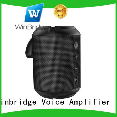 news portable wireless bluetooth speakers supplier for home Winbridge