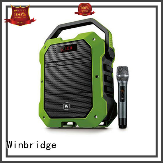 wireless comfortable karaoke speaker stylish Winbridge Brand