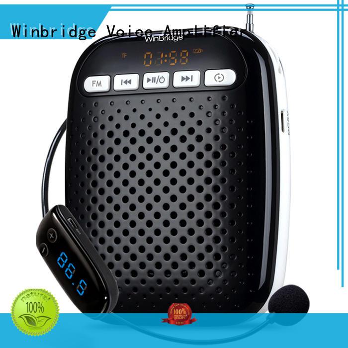 Winbridge Brand teacher microphone wireless teacher voice amplifier portable microphone speaker