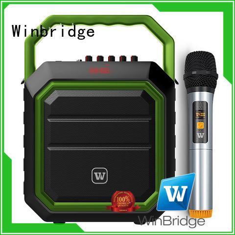 loudspeaker karaoke speaker box dual for Winbridge