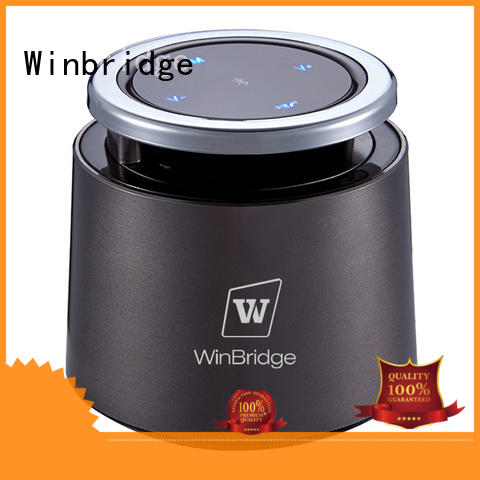 Winbridge waterproof best mini bluetooth speaker with touch panel for outdoor hiking