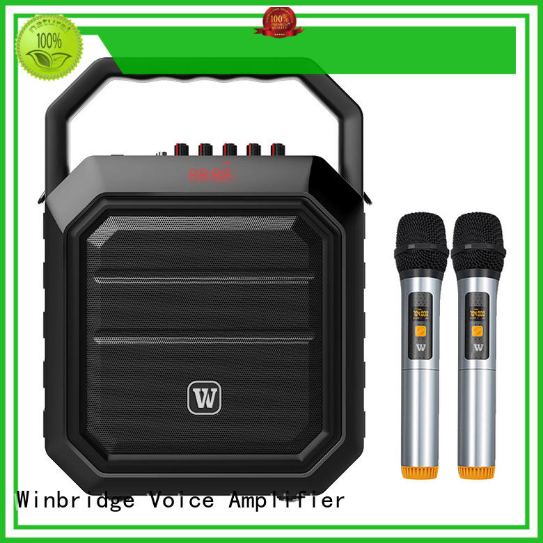 multifunctional karaoke mic with speaker with dual microphone for party