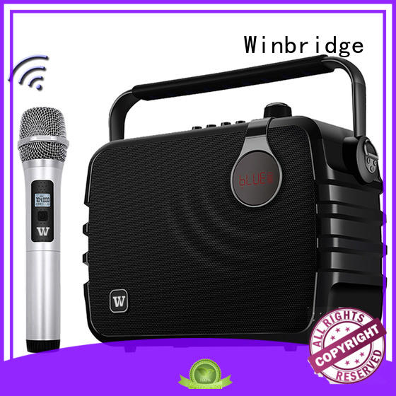 Winbridge karaoke best karaoke speakers home use wireless dance