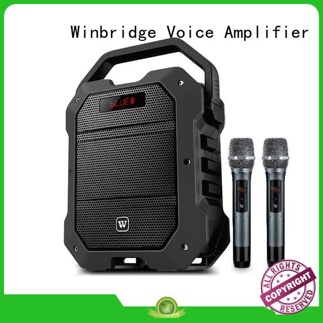 Winbridge bluetooth pa speakers manufacturers for speech