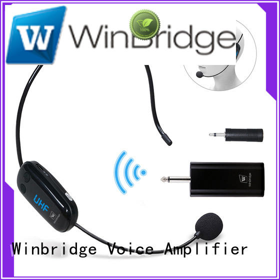 video recording decent range mic wireless system Winbridge company