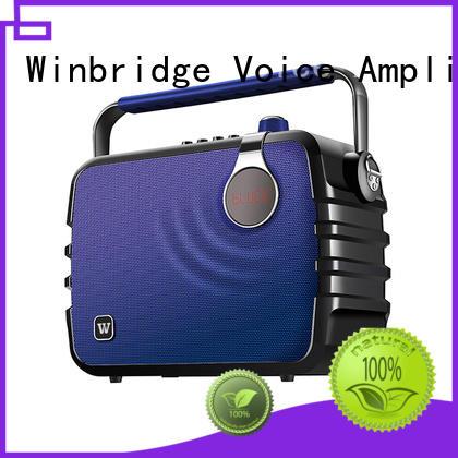speaker karaoke portable remote control Warranty Winbridge