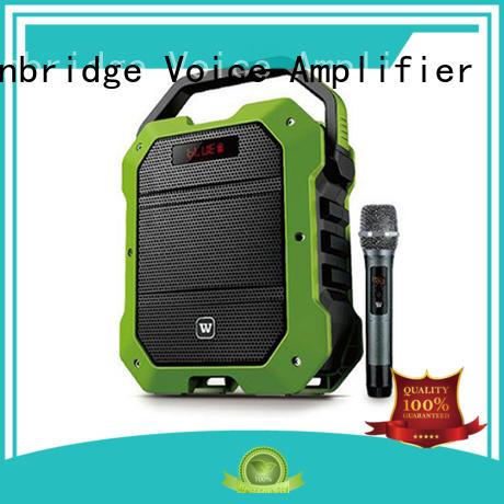 Quality Winbridge Brand stylish multifunctional karaoke speaker