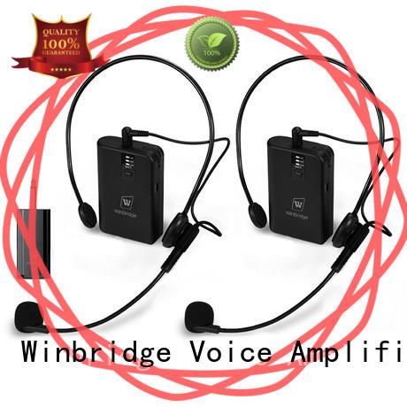 dual winbridge voice amplifier with for