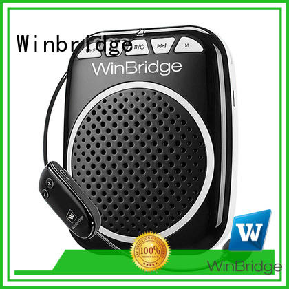 bluetooth rechargeable voice enhancer microphone Winbridge