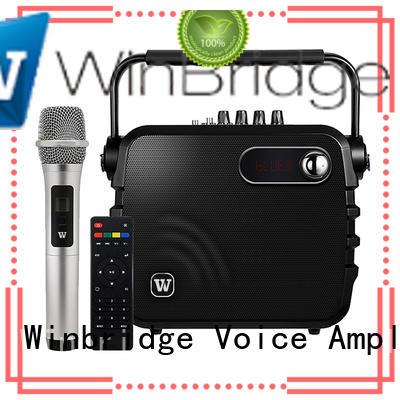 Winbridge karaoke best buy karaoke speaker dual for