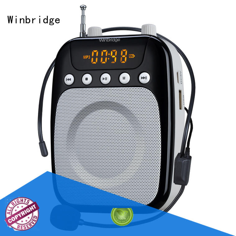 Winbridge rechargeable personal voice amplifier manufacturer wholesale