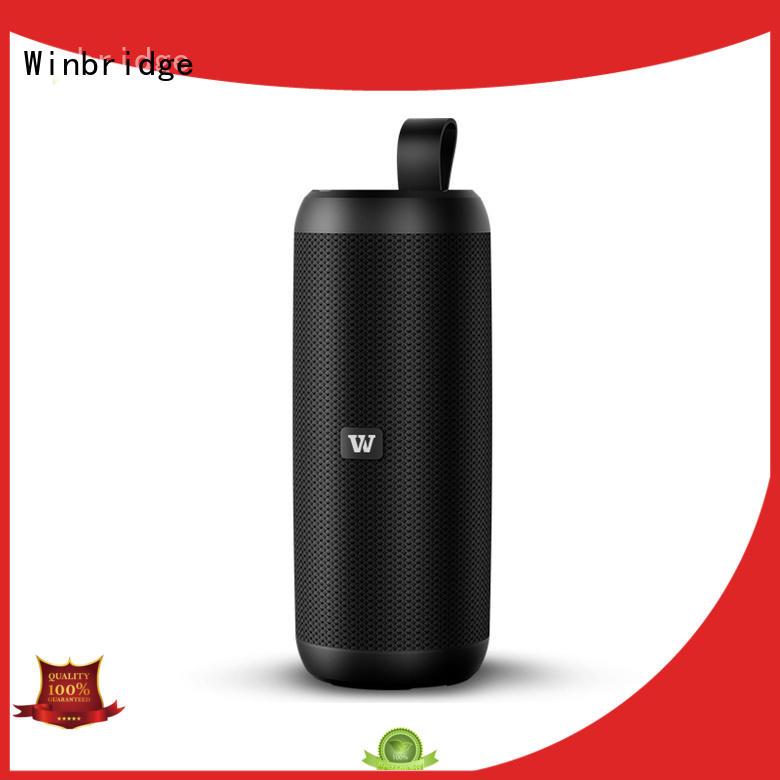 Winbridge outdoor best wireless bluetooth speakers supply for home
