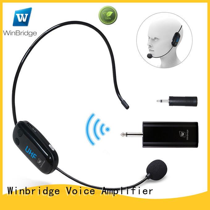 winbridge wireless collar mic winbridge speech Winbridge