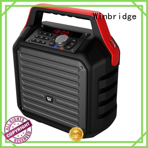 Winbridge Brand remote control wireless multifunction speaker karaoke bluetooth