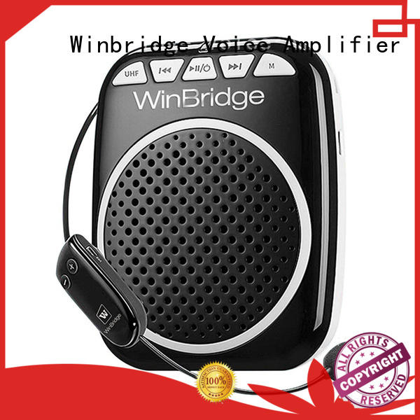Winbridge personal voice amplifier with headset for teacher
