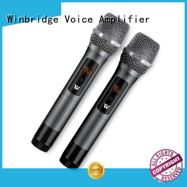 wireless lapel mic high quality for karaoke Winbridge