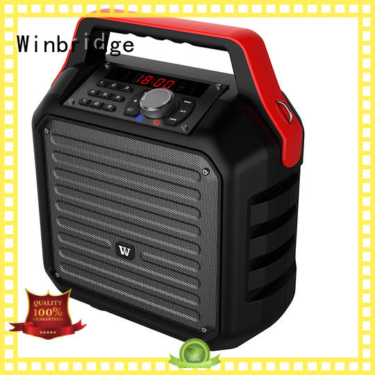 bluetooth best portable karaoke speakers manufacturer for dance Winbridge