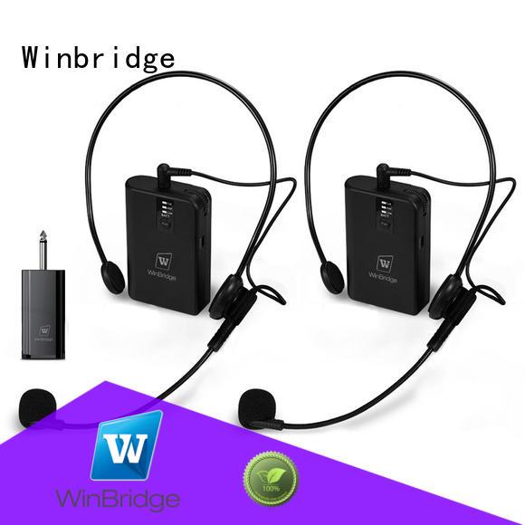 Wholesale wired mic wireless Winbridge Brand