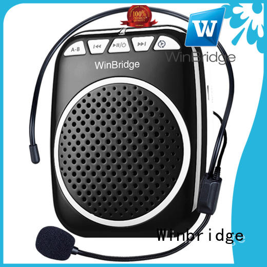 loudspeaker handheld voice amplifier with wireless microphone for teacher