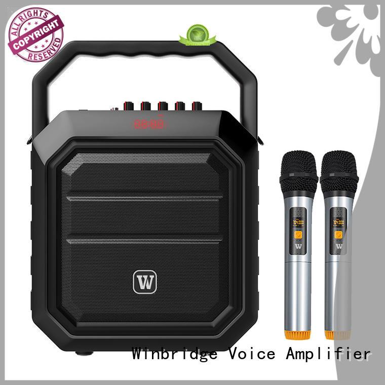 Winbridge bluetooth pa speakers factory for speech