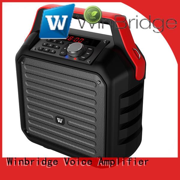 Winbridge winbridge karaoke microphone and speaker microphone for