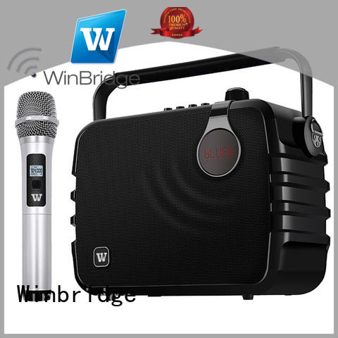 bluetooth best portable karaoke speakers supplier for dance Winbridge