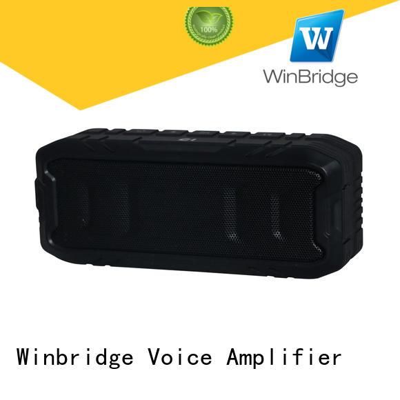 Winbridge waterproof portable wireless bluetooth speakers manufacturer for home