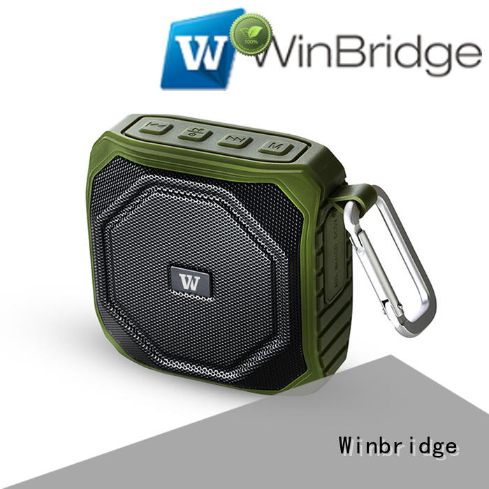 Wholesale hands-free call wireless bluetooth speaker Winbridge Brand