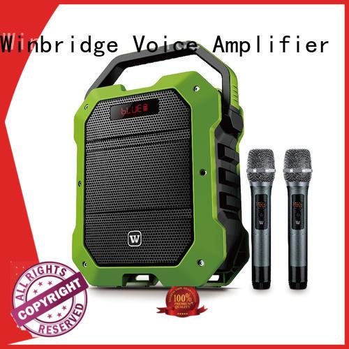 high quality best karaoke speakers supplier for street performance Winbridge