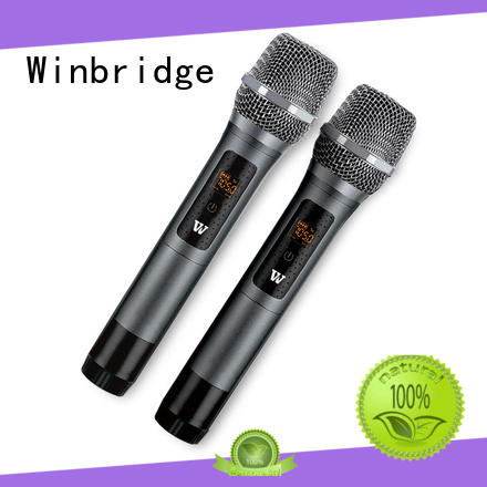 handheld wireless microphone headset with receiver microphone system for sale