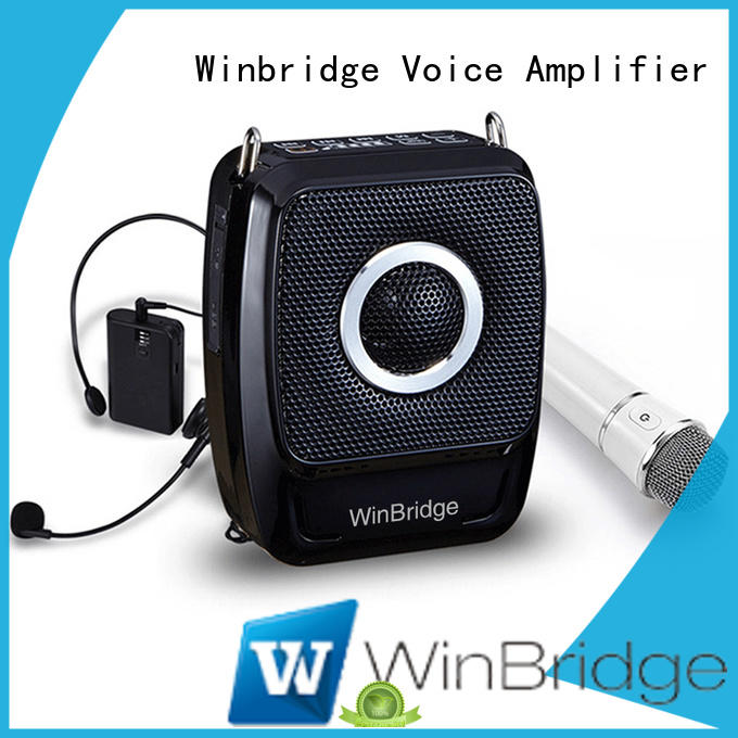 Winbridge latest voice amplification devices with waistband for teacher