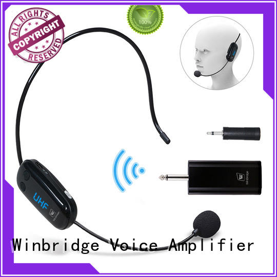 Winbridge handheld small microphone wireless wholesale for karaoke