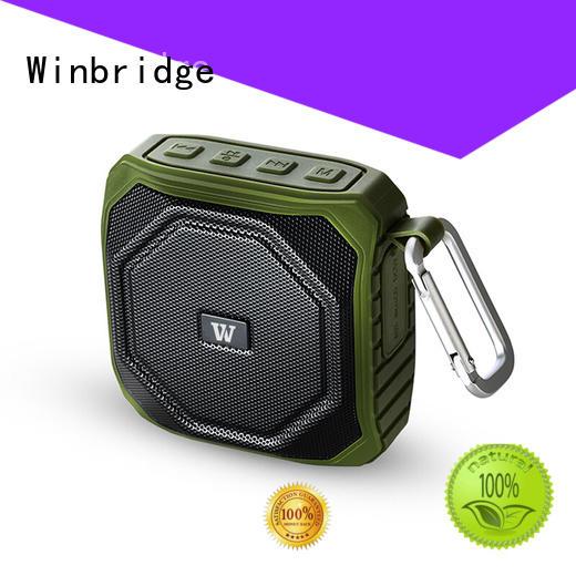 Winbridge custom bluetooth speaker box factory for outdoor hiking