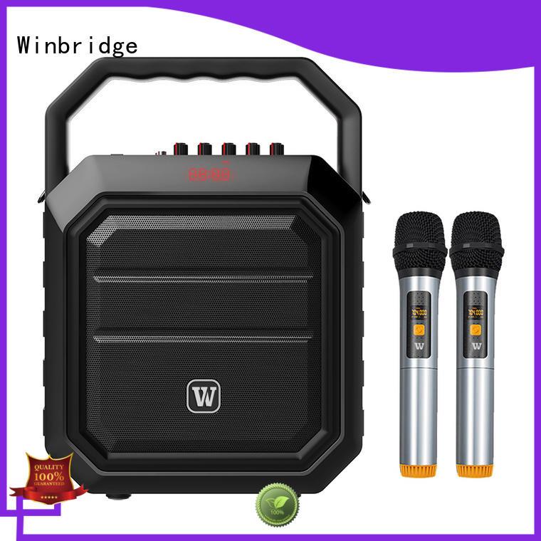 uhf karaoke speaker microphone manufacturer for street performance