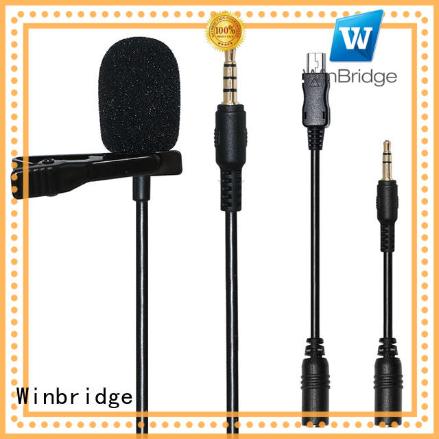 humanized appearance easy to use wired wireless microphone system Winbridge