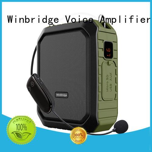 Winbridge Brand wireless winbridge headset teacher voice amplifier portable microphone speaker wired