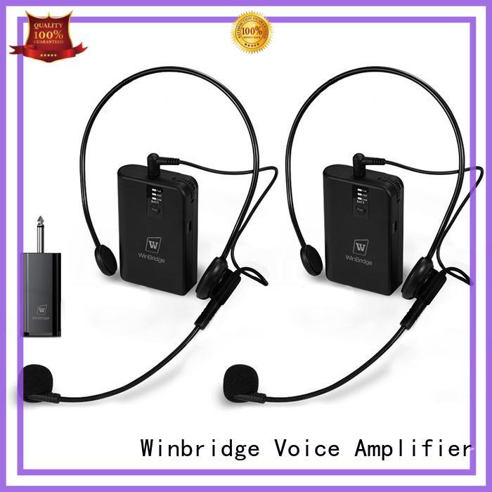 Winbridge wireless lapel microphone manufacturer for sale