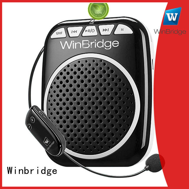 Winbridge voice amplifier with headset for teacher