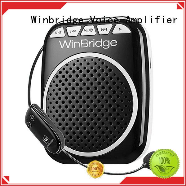 mini microphone voice amplifier waistband teacher