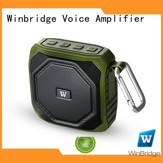 Winbridge bluetooth home speakers with touch panel for party