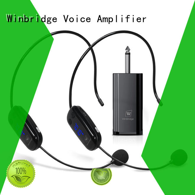 wireless microphone headset manufacturer for karaoke Winbridge