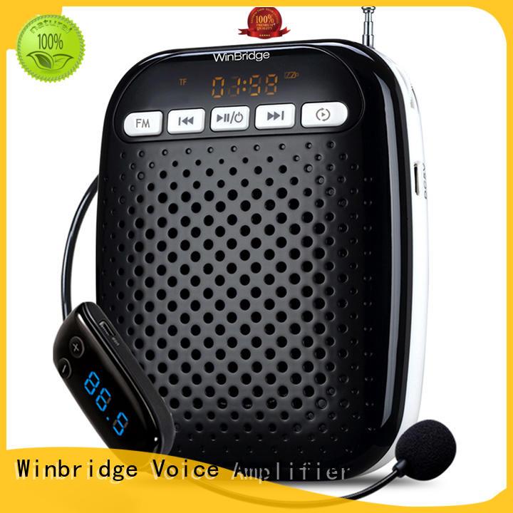 customized wireless voice amplifier for teachers with headset for speech Winbridge