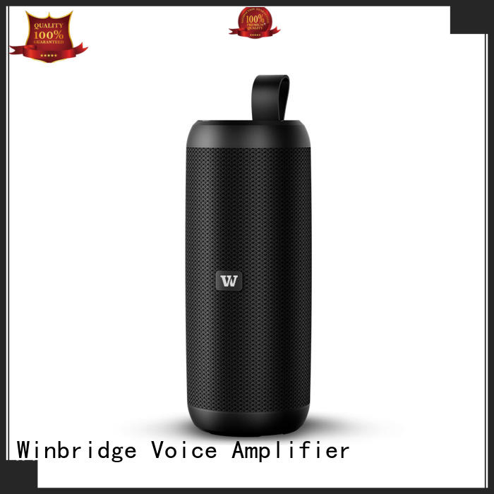 Winbridge high quality bluetooth stereo speakers wholesale for outdoor hiking