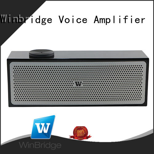 panel hands-free call bluetooth speaker pocket Winbridge Brand